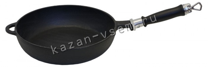 Чугунная сковорода своими руками