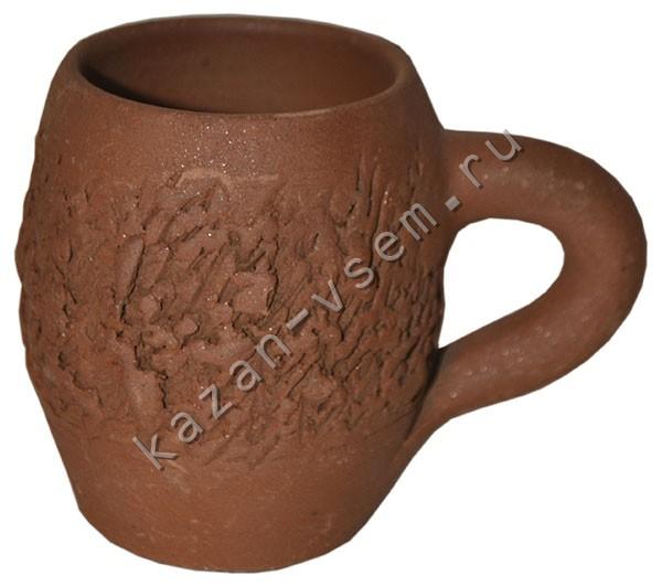 Купить Кружка глиняная, грузинская, для напитков, цена 300 : Посуда...